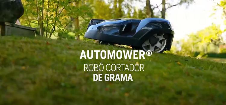 Sistema de manutenção de gramados 100% autônomo é com o Automower®
